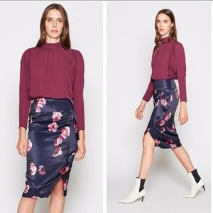 NWT Joie Alphina floral skirt